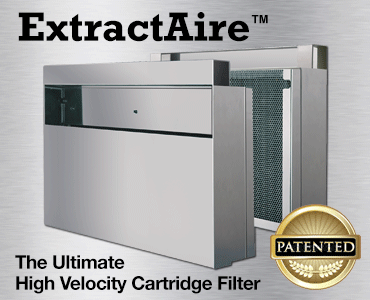 ExtractAire Cartridge Filters for Commercial Kitchen Hoods