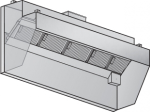 Low Proximity Shelf Design (LPSD) CKV Hood