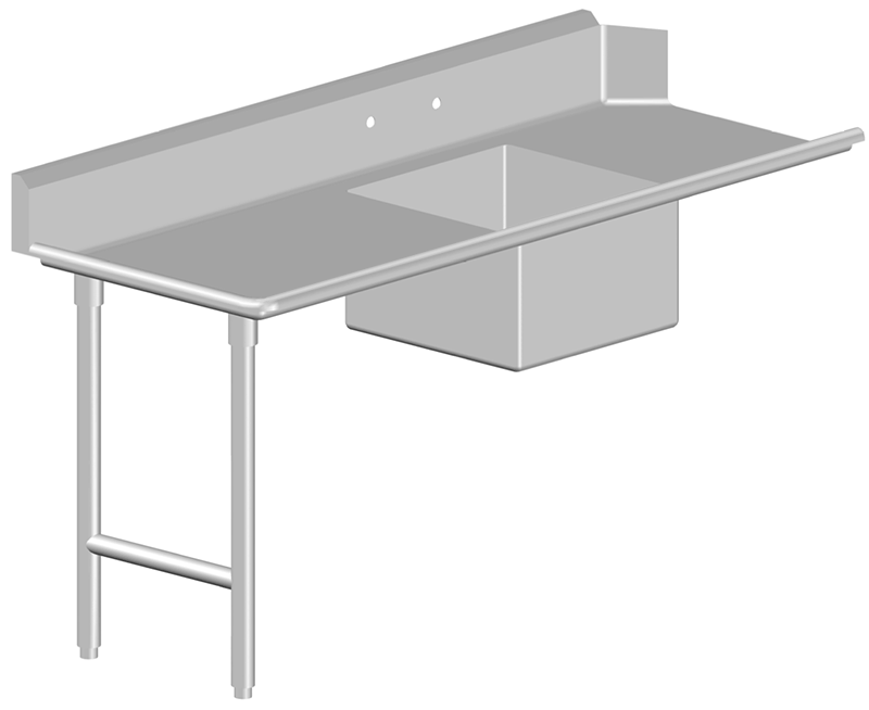 Soiled Dish Table Stainless Steel
