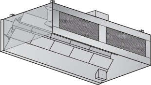 WCFS Wall Canopy Front Supply Hood
