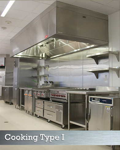 Type I CKV Grease Hood