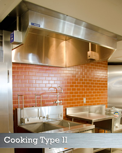 Commercial Kitchen Ventilation Hood Type II (Type 2)