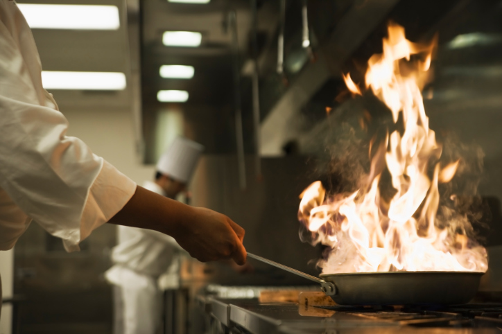 Commercial Kitchen Cooking Safety Considerations