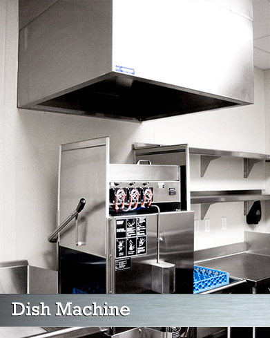 Commercial Kitchen Ventilation Hoods (Dish Machine Hoods)