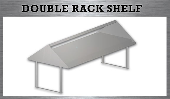Double Rack Shelf