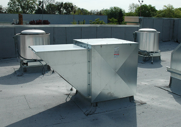 Downdraft Filtered Air Supply