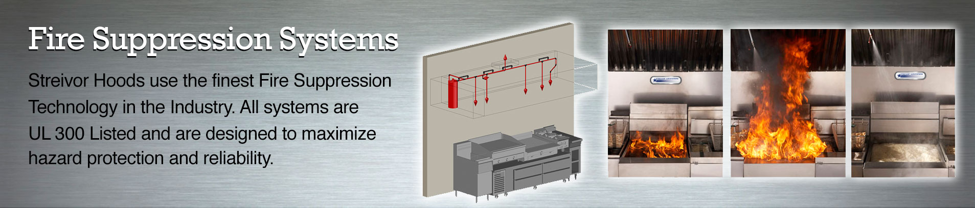 Fire Suppression Systems for CKV Kitchens