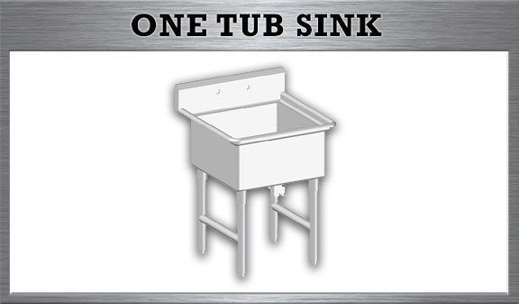One Tub Sink
