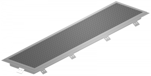Stainless Steel Trough with Grate