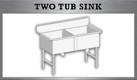 Two Tub Sink