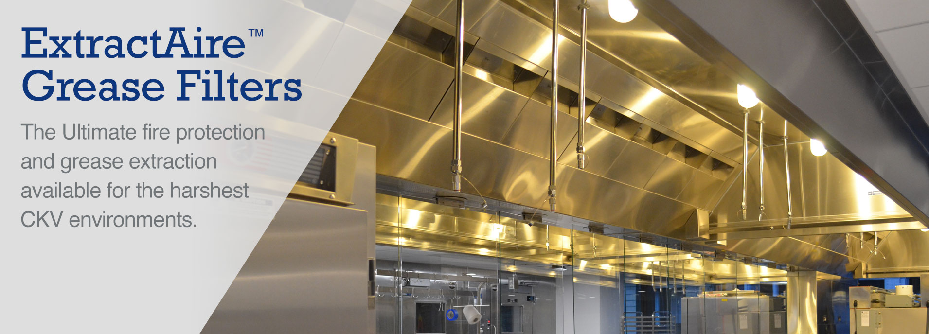 ExtractAire Grease Filters for Commercial Kitchen Hoods