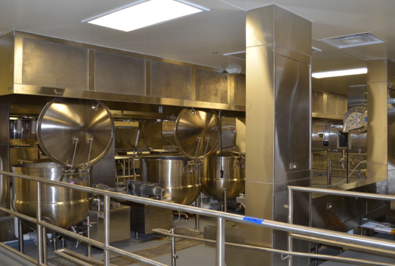 Commercial Kitchen Hood - Front Supply Air Hood