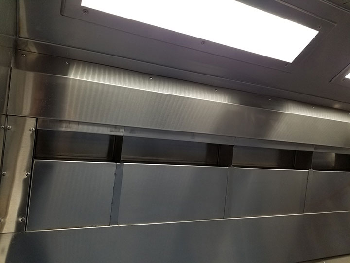 Filter Bank UV Commercial Kitchen Hood