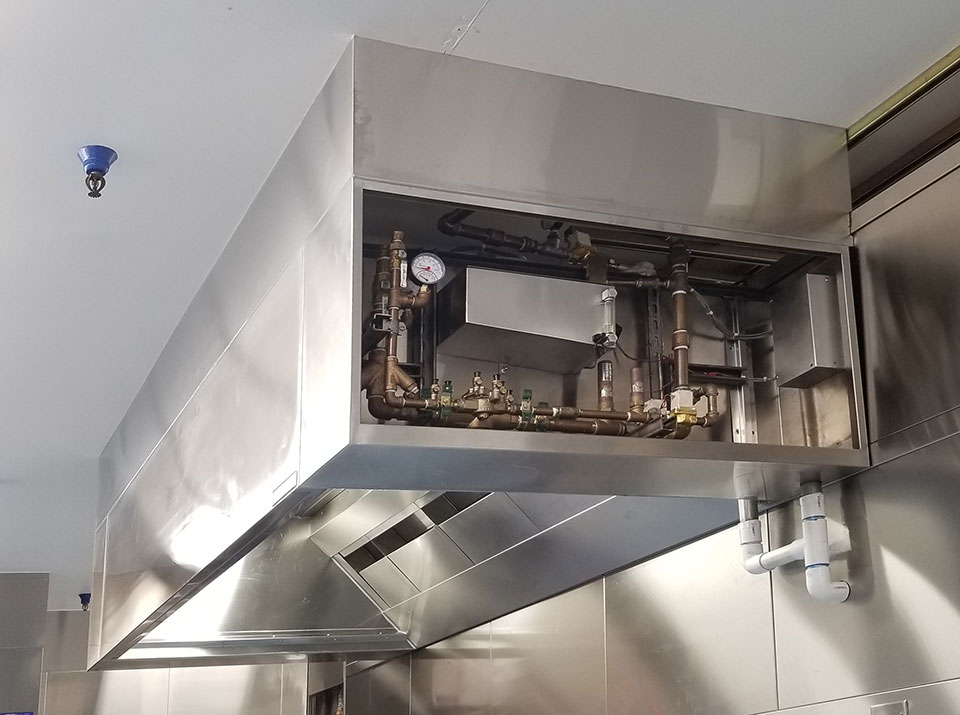 Self-Cleaning Rotating Water Wash Hoods (RWW)